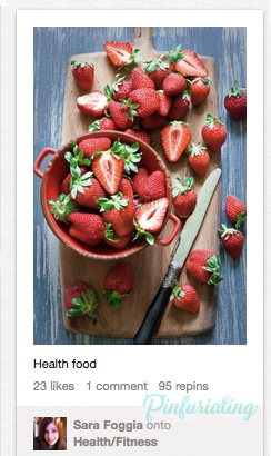 An image of simple cut up strawberries.