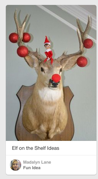 Elf on the shelf Christmas buck